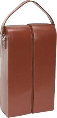 Royce Leather Double Wine Presentation Case - Genuine