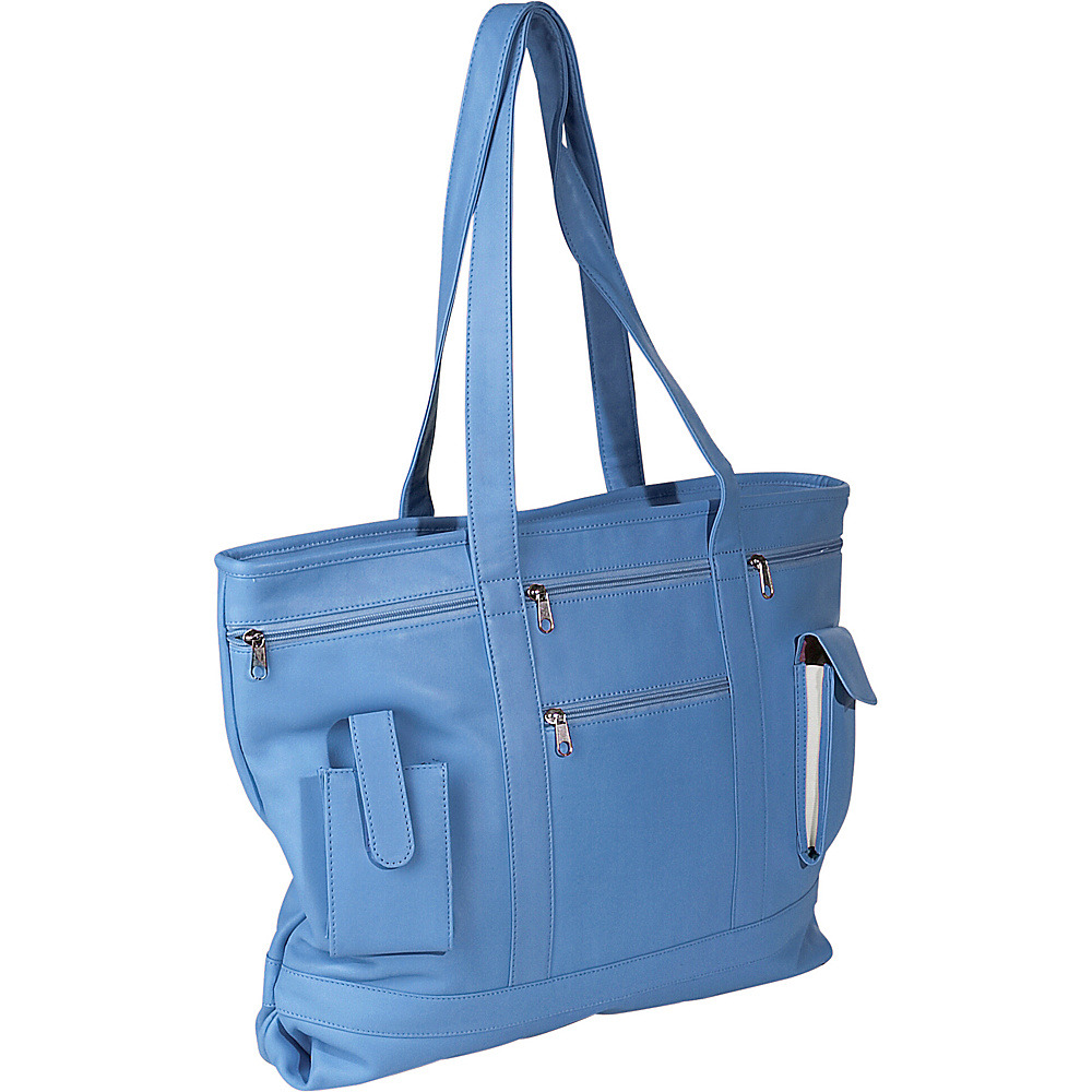 Royce Leather Business Tote - Royce Blue - Work Bags & Briefcases, Women's Business Bags