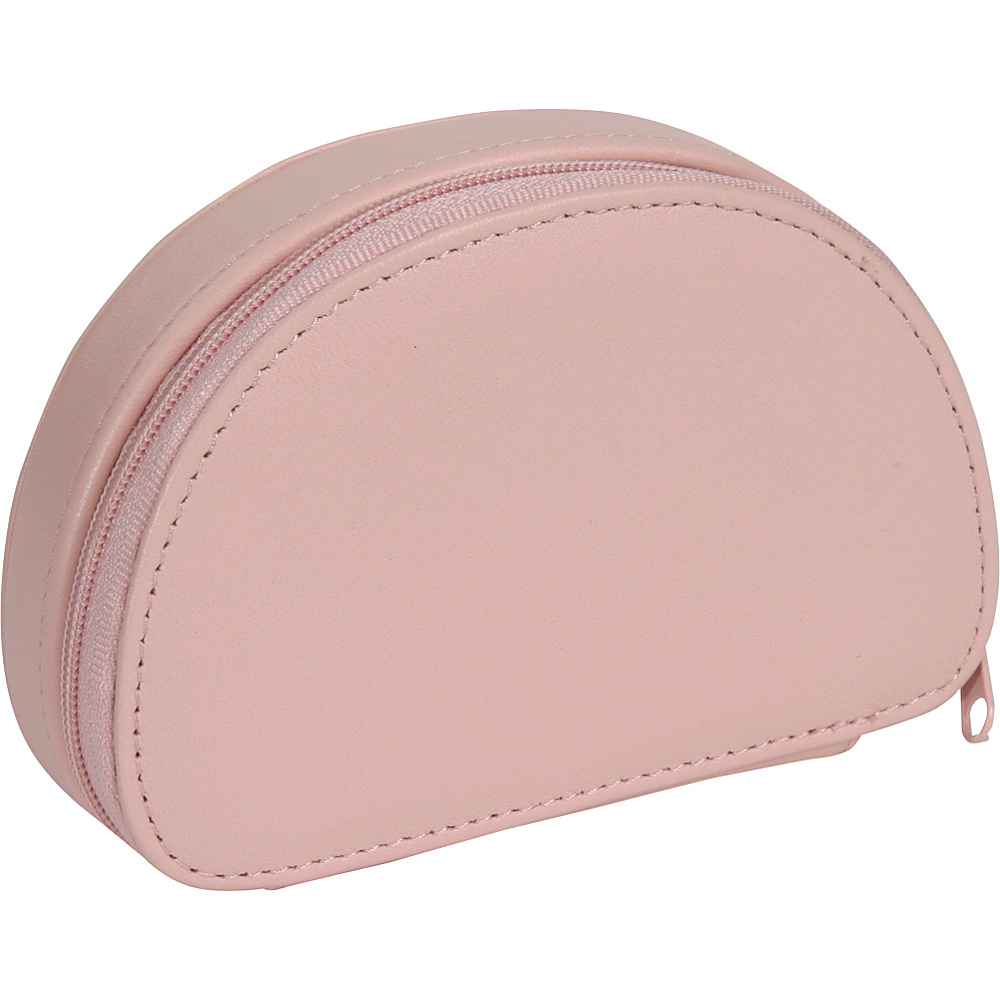 Royce Leather Mini Jewelry Case - Carnation Pink - Travel Accessories, Travel Organizers