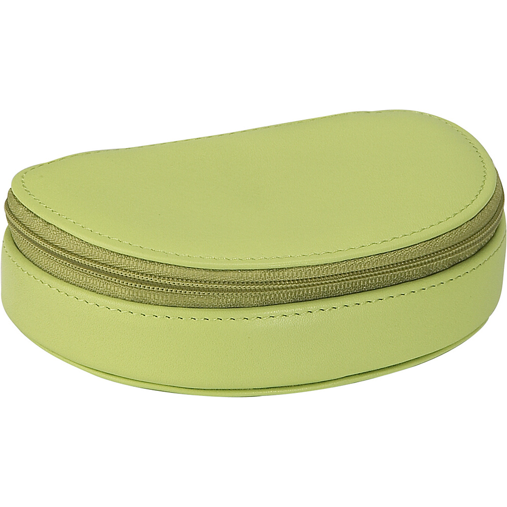 Royce Leather Mini Jewelry Case - Key Lime Green - Travel Accessories, Travel Organizers