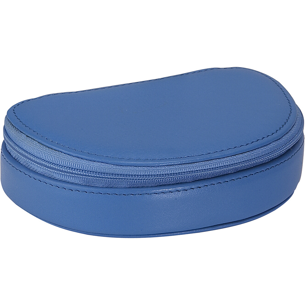 Royce Leather Mini Jewelry Case - Royce Blue - Travel Accessories, Travel Organizers