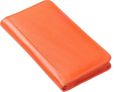 Clava Split Zip Travel Wallet CI Orange - Clava Travel Wallets
