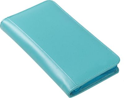 Clava Split Zip Travel Wallet Aqua - Clava Travel Wallets