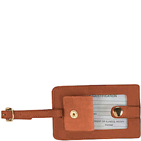 Snap Luggage Tag Tan