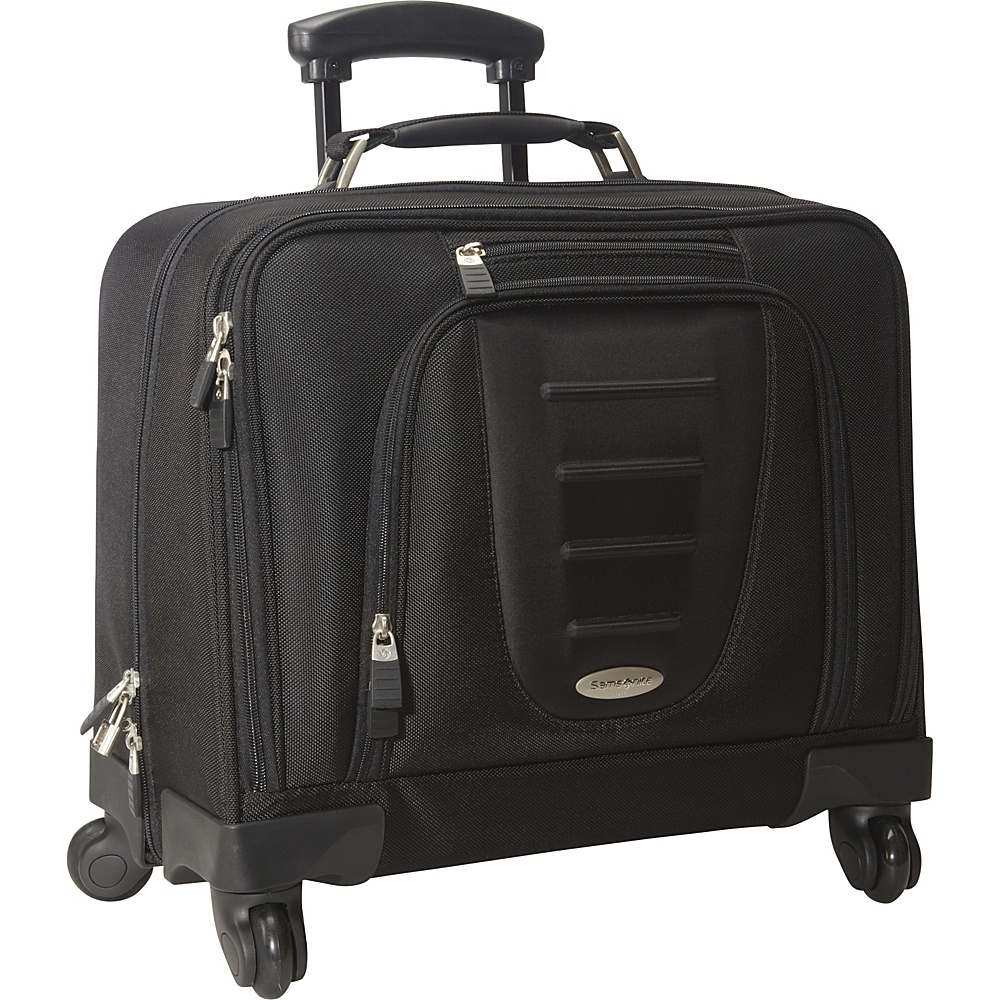 Samsonite Spinner Mobile Office Black - Samsonite Wheeled Business Cases - Work Bags & Briefcases, Wheeled Business Cases