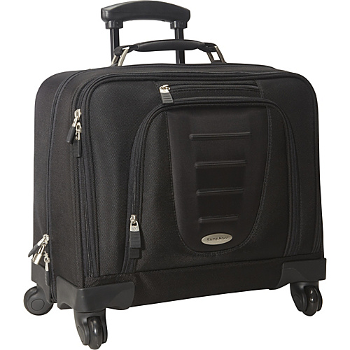 Samsonite Spinner Mobile Office Black - Samsonite Wheeled Business Cases