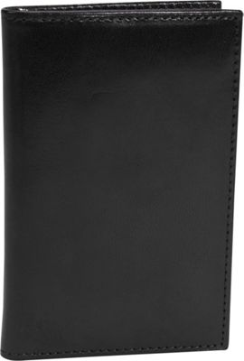 Bosca Old Leather 8 Pocket Credit Card Case Black - Bosca Men's Wallets