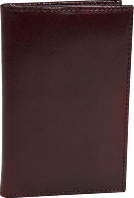 Bosca Old Leather 8 Pocket Credit Card Case Dark Brown - Bosca Men's Wallets