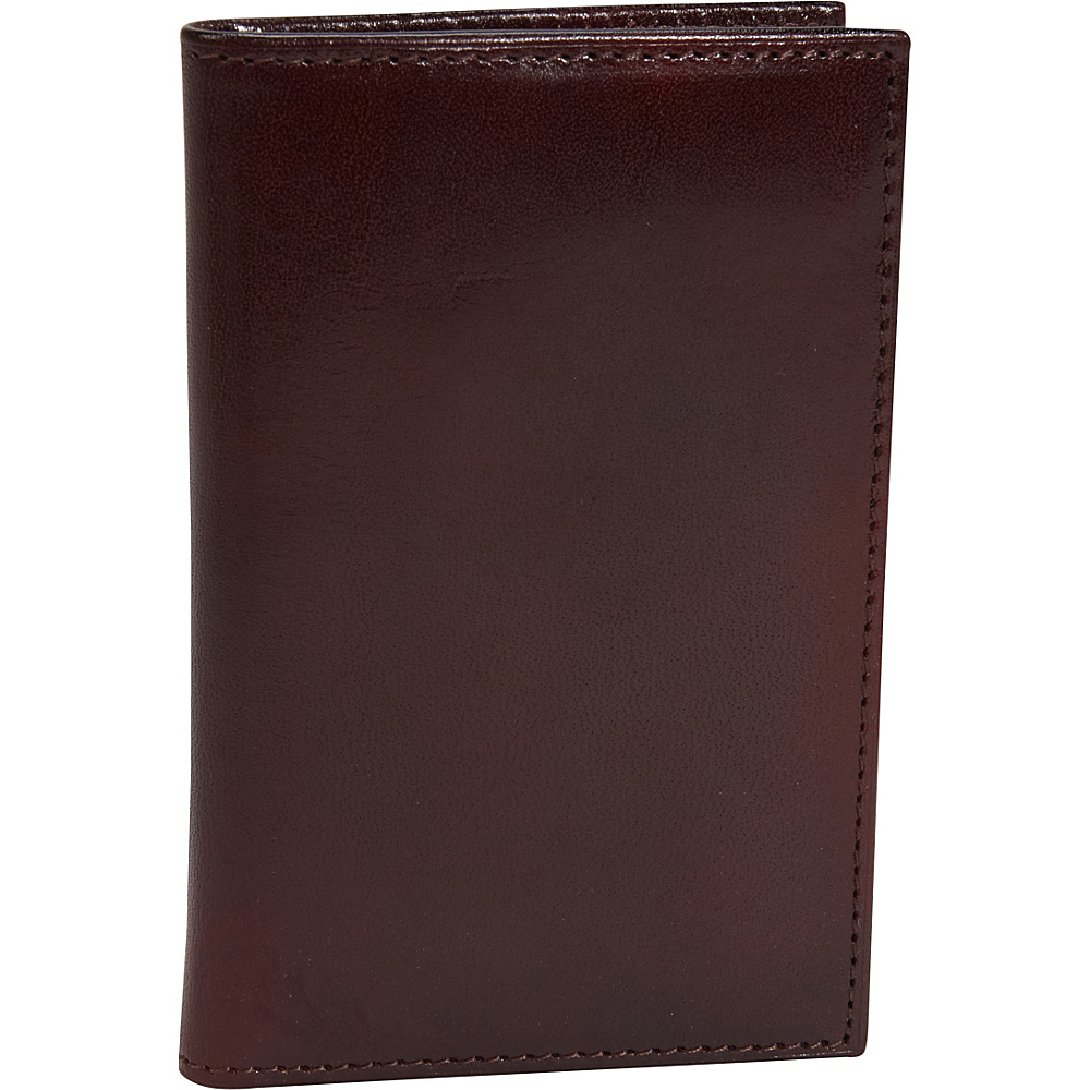 Bosca Old Leather 8 Pocket Credit Card Case Dark Brown - Bosca Men's Wallets