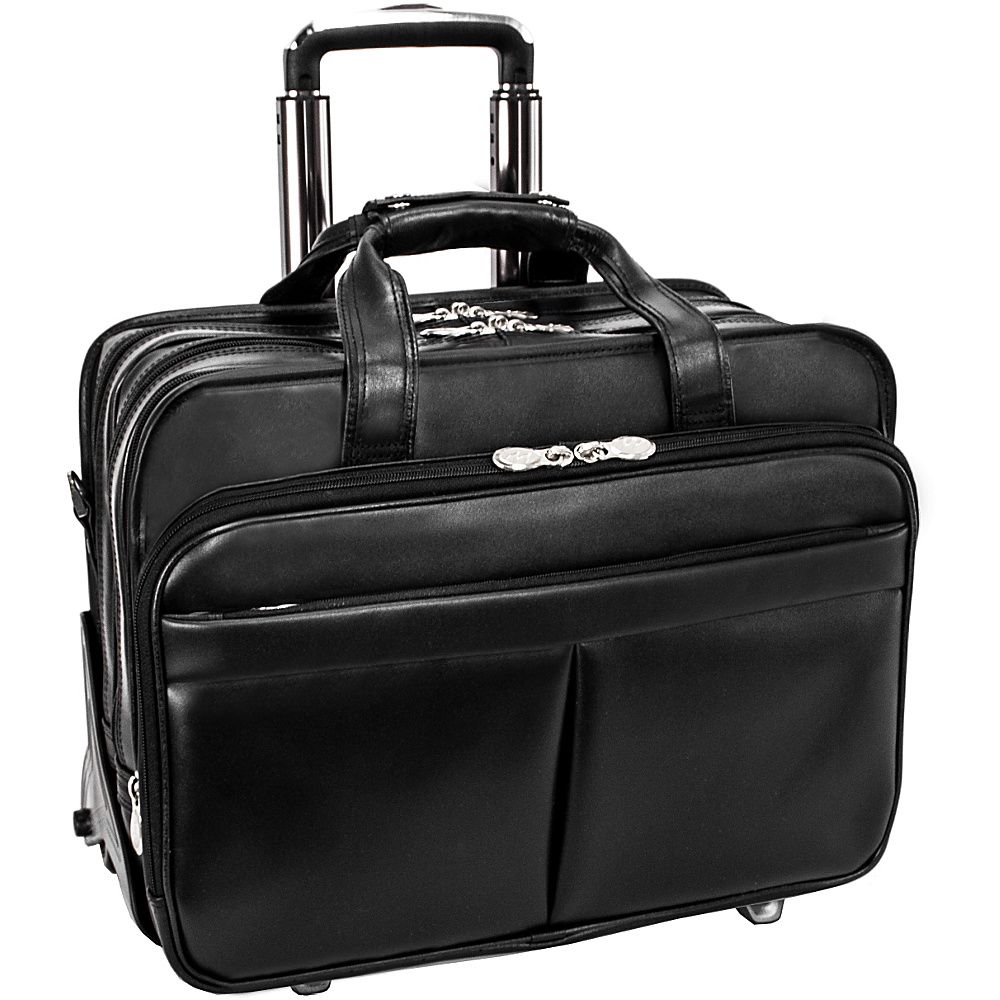McKlein USA Roosevelt Leather Detachable Wheeled 17 - Work Bags & Briefcases, Wheeled Business Cases