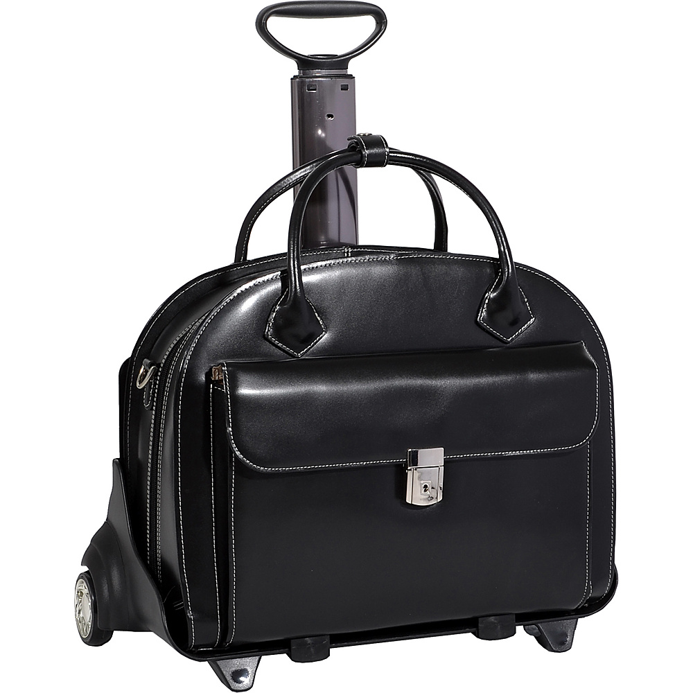 McKlein USA W Series Glen Ellyn Leather - Work Bags & Briefcases, Wheeled Business Cases