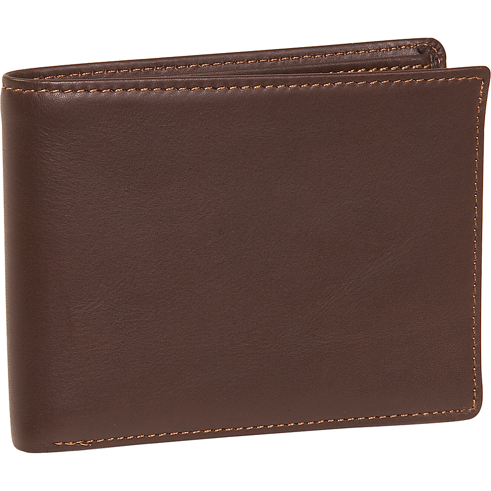 Dopp Regatta 88 Series Credit Card Billfold - Mahogany - Work Bags & Briefcases, Men's Wallets