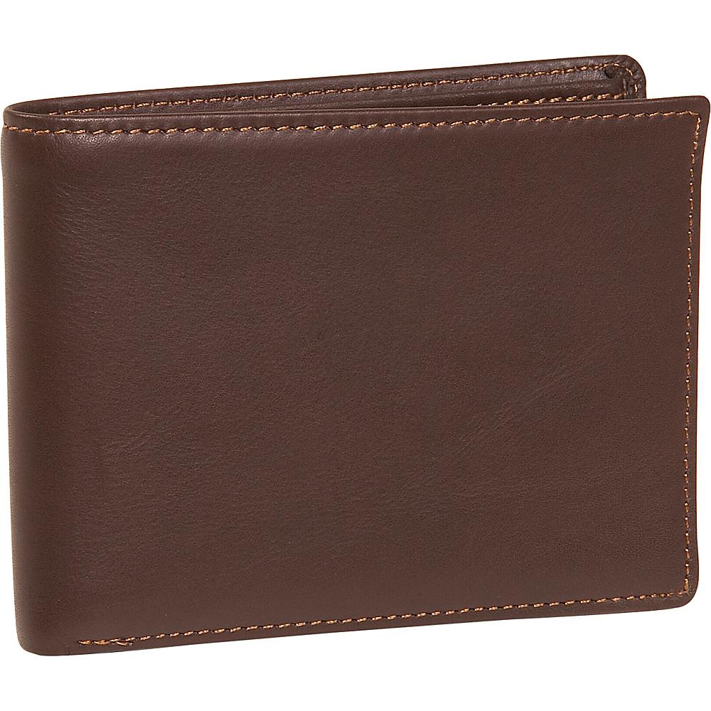 Dopp Regatta 88 Series Credit Card Billfold - Mahogany - Work Bags & Briefcases, Men's Wallets