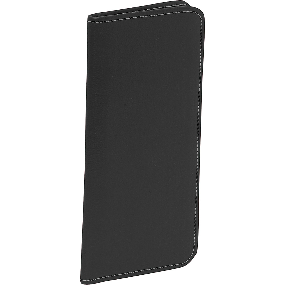 Piel Passport/Ticket Holder - Black - Travel Accessories, Travel Wallets