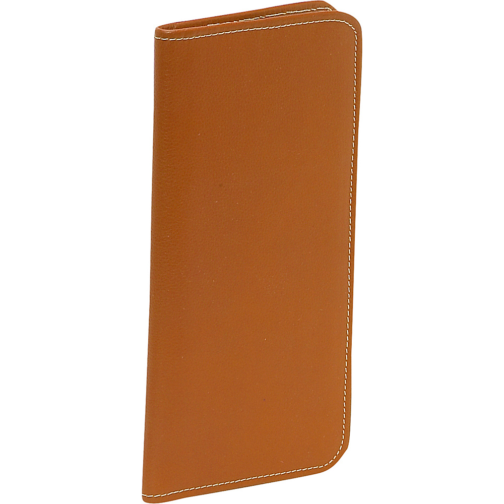 Piel Passport/Ticket Holder - Saddle - Travel Accessories, Travel Wallets