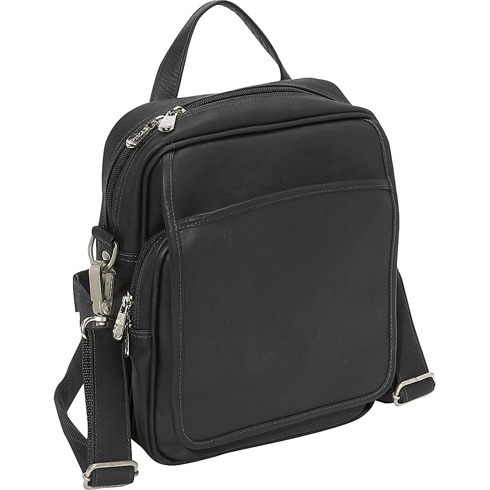 Piel Travelers Mens Bag - Black - Work Bags & Briefcases, Other Men's Bags