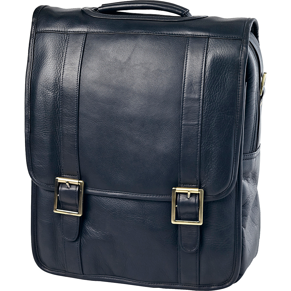 Clava Vachetta Leather Upright Porthole Brief - Work Bags & Briefcases, Non-Wheeled Business Cases