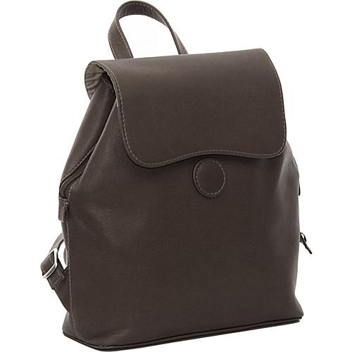 Piel Ladies Backpack - Chocolate