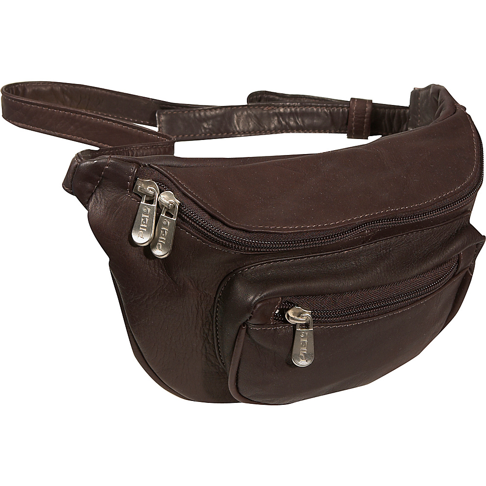 Piel Travelers Waist Bag - Chocolate - Backpacks, Waist Packs