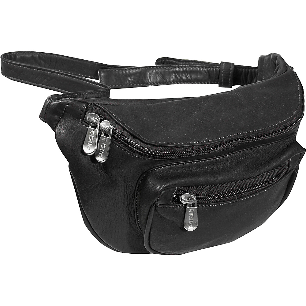 Piel Travelers Waist Bag - Black - Backpacks, Waist Packs