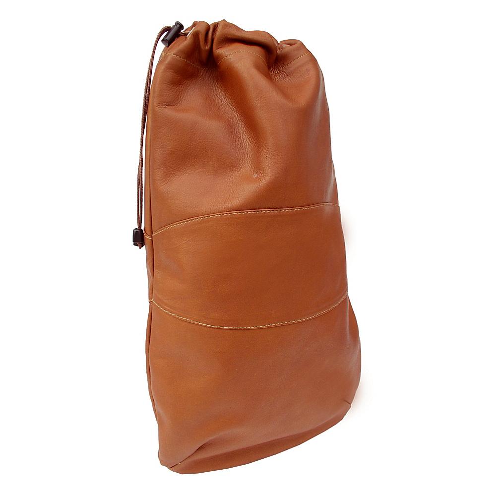 Piel Drawstring Shoe Bag - Black