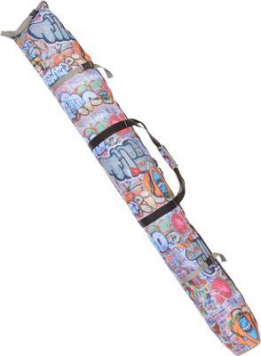 Athalon Single Ski Bag - Padded - 180cm Graffiti - Athalon Ski and Snowboard Bags