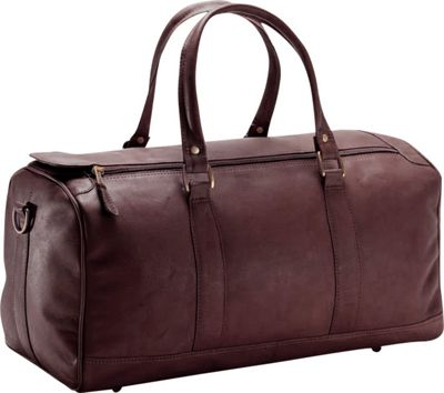 Clava Small 19 inch Barrel Duffel - Vachetta Cafe