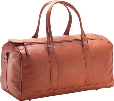 Clava Small 19 inch Barrel Duffel - Vachetta Tan