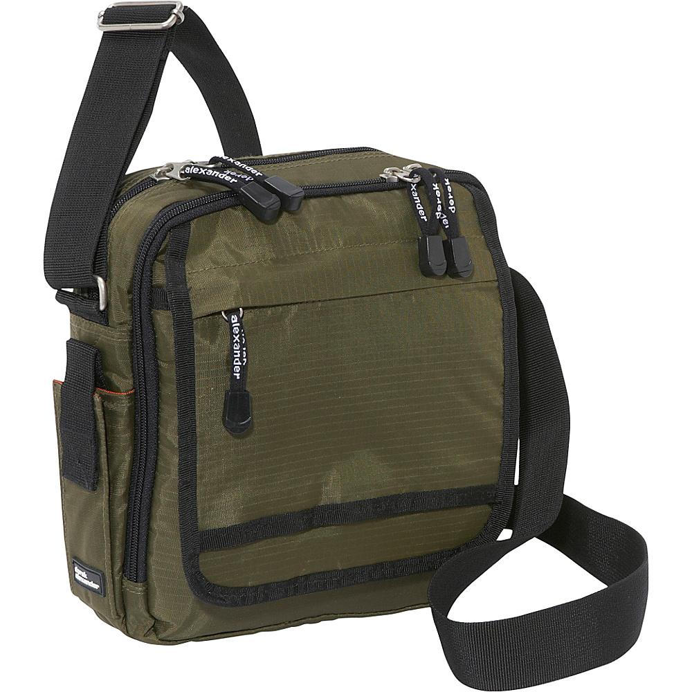 Derek Alexander North/South Top Zip Shoulder Bag - Shoulder Bag - Handbags, Fabric Handbags