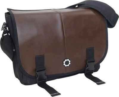 DadGear Messenger Diaper Bag Pro - Coffee Brown