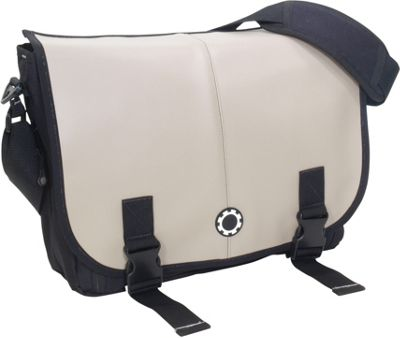 DadGear Messenger Diaper Bag Pro - Elephant Grey