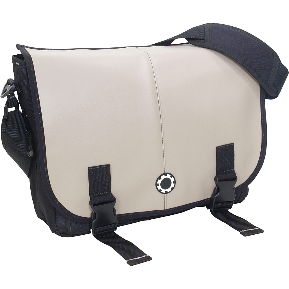 DadGear Messenger Diaper Bag Pro - Elephant Grey - Handbags, Diaper Bags & Accessories