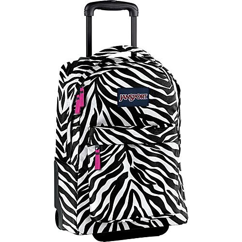 Zebra Rolling Backpack   Frog Backpack