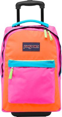 UPC 888654046380 - Jansports Wheeled Superbreak Fluorescent Pink ...