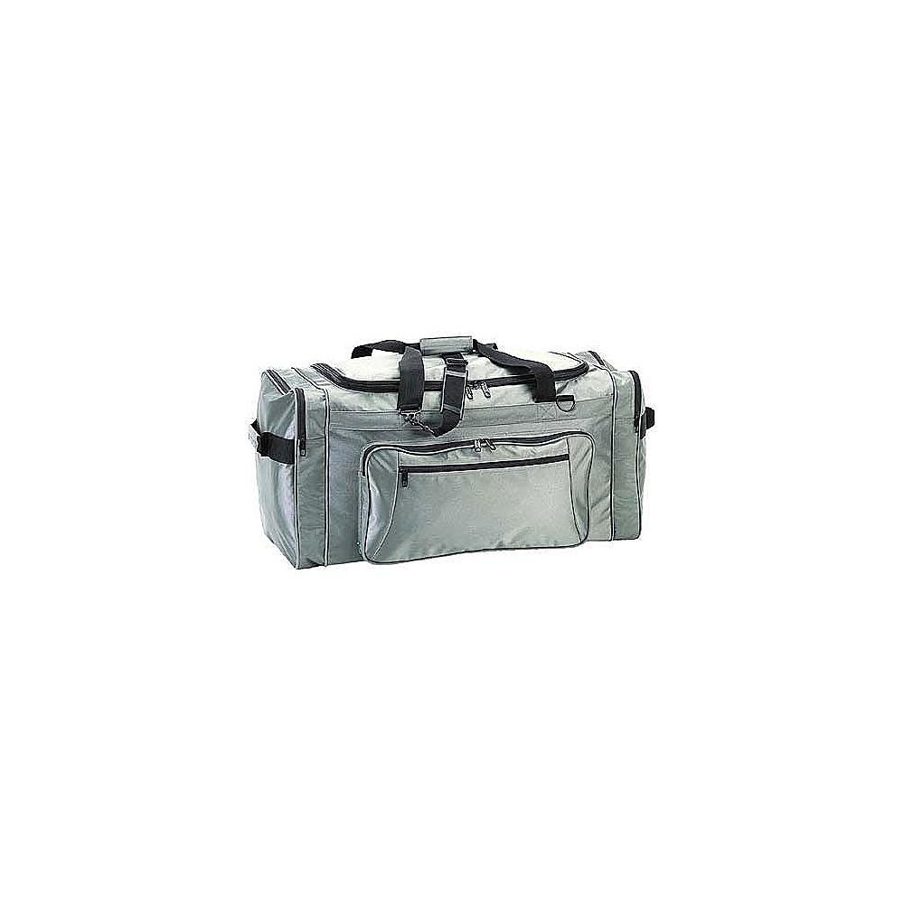 Netpack 21 Ballistic Nylon Cargo Duffel - Grey - Duffels, Travel Duffels