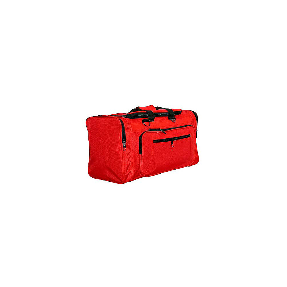 Netpack 21 Ballistic Nylon Cargo Duffel - Red - Duffels, Travel Duffels