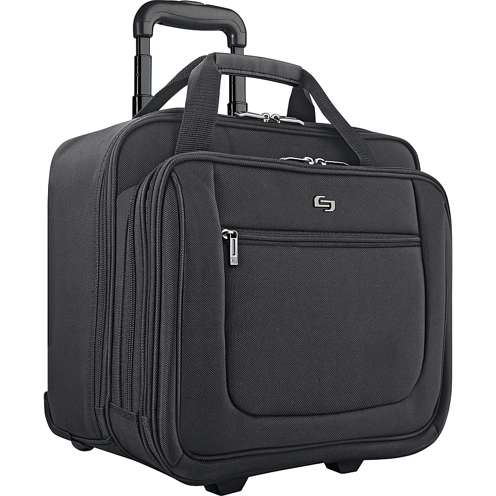 SOLO Oversized Rolling Laptop Case - Black - Work Bags & Briefcases, Wheeled Business Cases