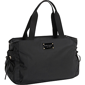 Clinton Street Henry Baby Bag Black