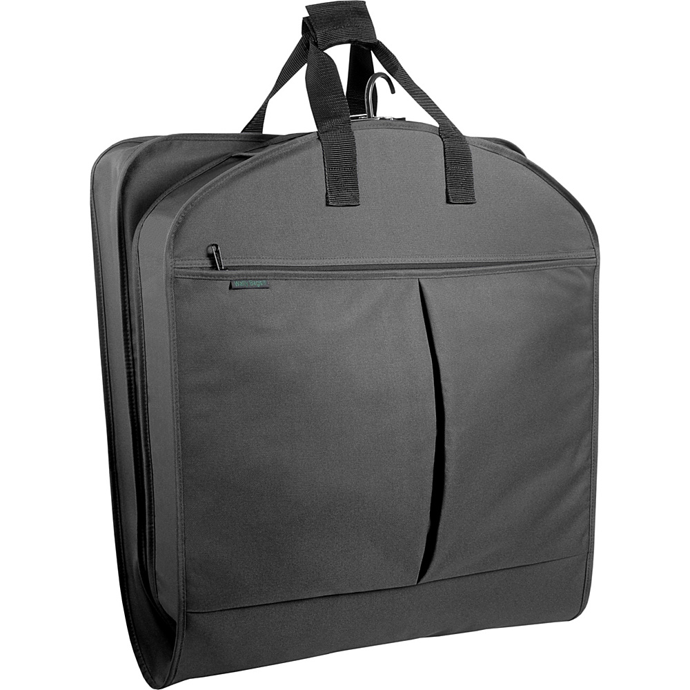 Wally Bags 40 Suit Bag w Two Pockets Black