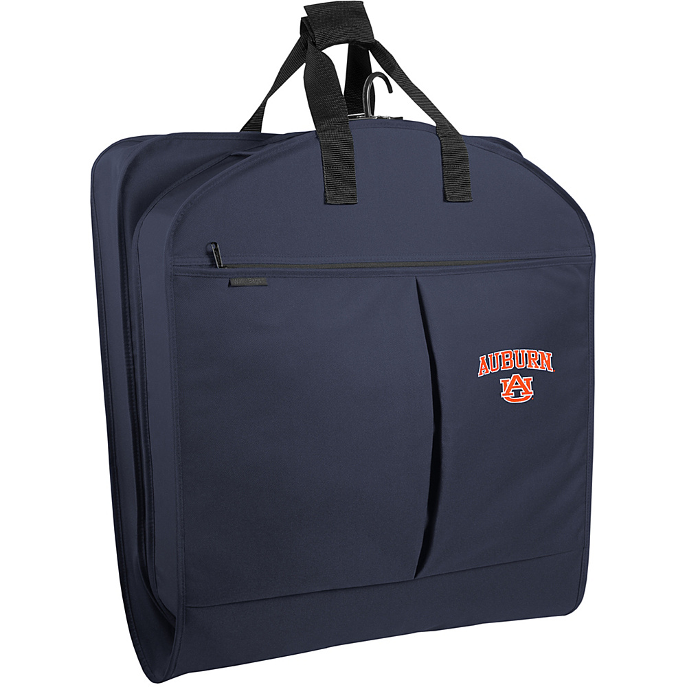 Wally Bags 40 Suit Bag w/ Two Pockets - Navy - Luggage, Garment Bags