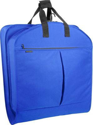 Wally Bags 40 inch Suit Bag w/ Two Pockets Royal - Wally Bags Garment Bags