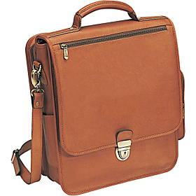 The Reporter Leather Vertical Case Tan