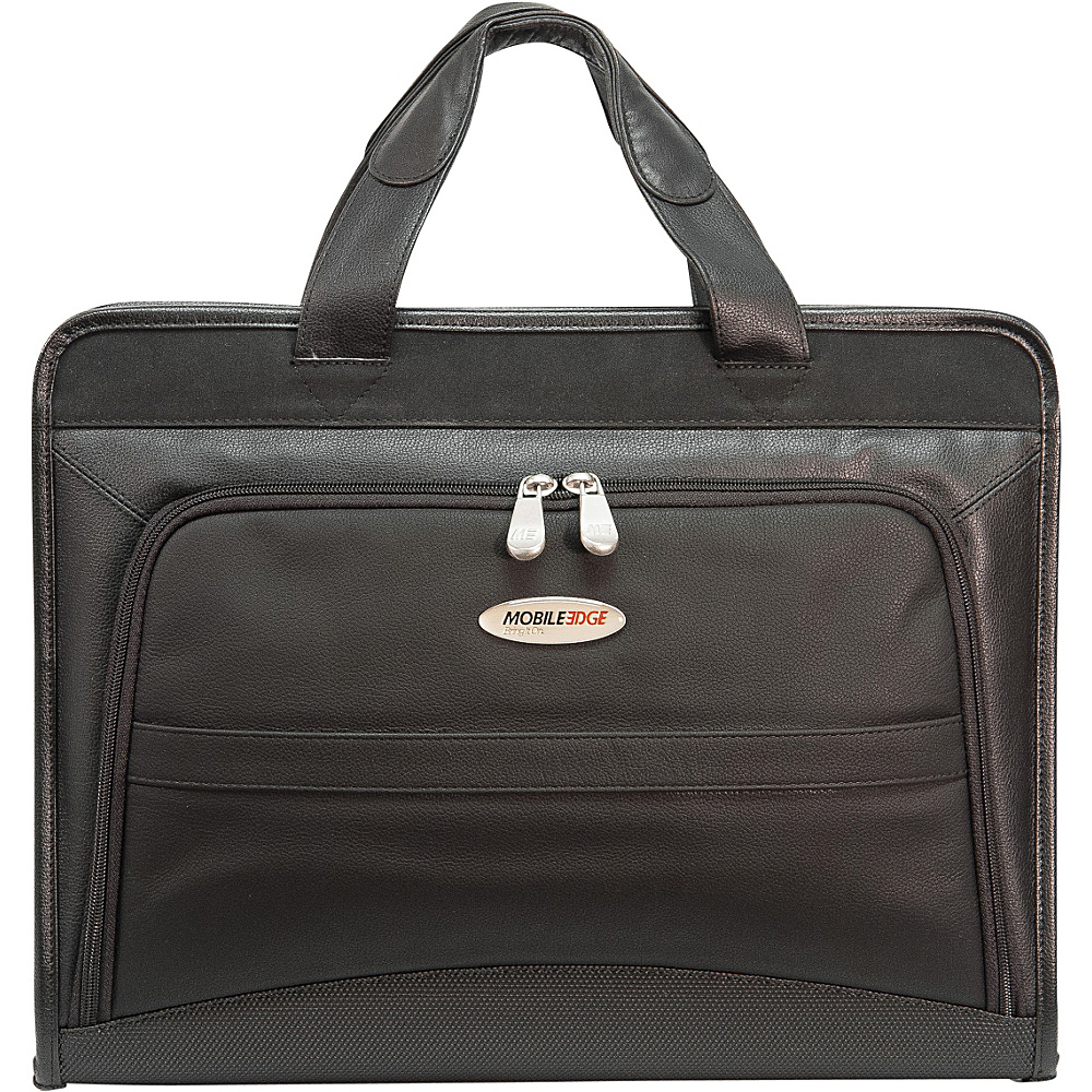 Mobile Edge Leather Portfolio 15.4 PC 17 MacBook
