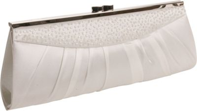 White Bridal Clutches