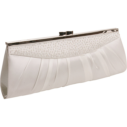 Coloriffics Handbags Ruched Frame Clutch