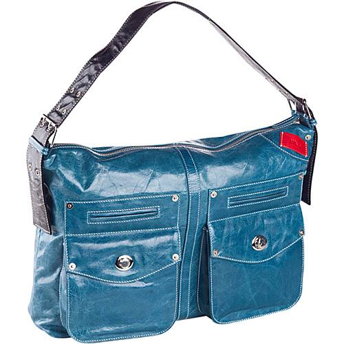 Clava Kiki Messenger Sling/Shoulder Bag - Glazed Blue