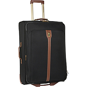 Oxford 21'' Carry-On Rolling Upright Suiter Black