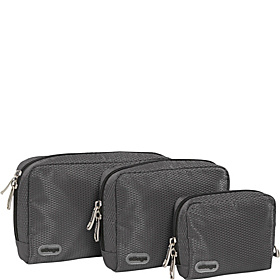 Padded Pouches - 3 pc Set Titanium