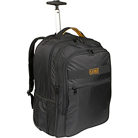 EXPANDABLE Trolley Laptop Backpack Black