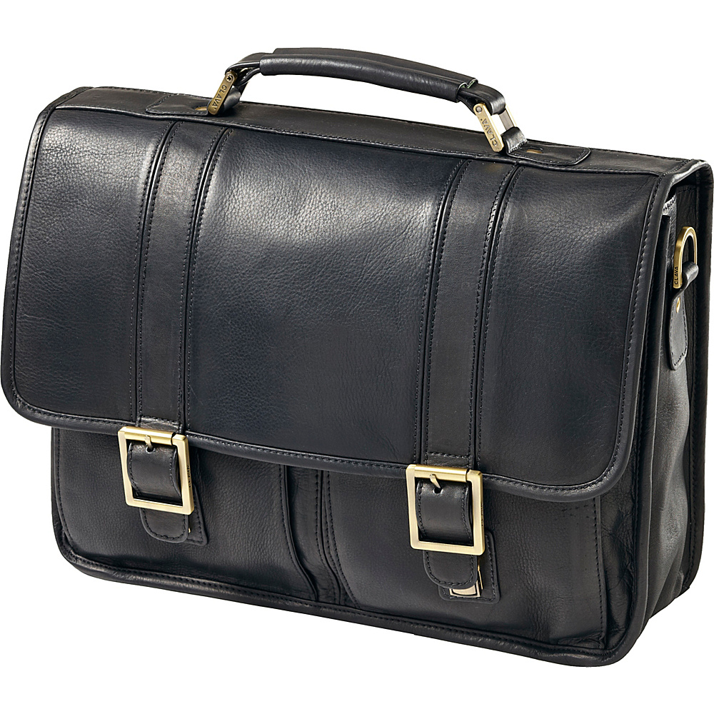 Clava Vachetta Leather Laptop Briefcase - Vachetta - Work Bags & Briefcases, Non-Wheeled Business Cases